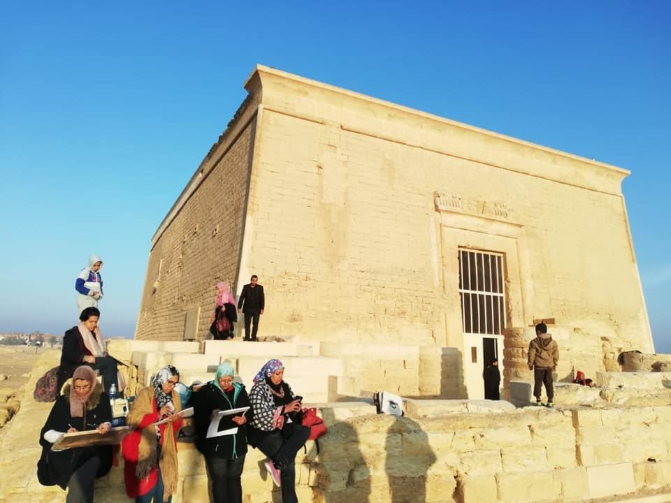 Arsenoy Workshop – The sun passes over Qarun Palace in Fayoum